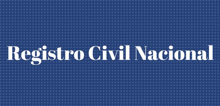 registro civil nacional